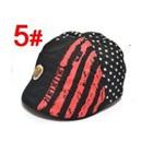 หมวกไร้ปีกหมีน้อย-สีดำ-(5-ใบ/แพ็ค)