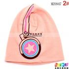 หมวกทรงสูง-star-headphone-cap-สีชมพู--(5-ใบ/แพ็ค)