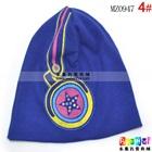 หมวกทรงสูง-star-headphone-cap-สีน้ำเงิน(5-ใบ/แพ็ค)