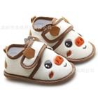 รองเท้าหุ้มส้นหมูน้อยน่ารัก-สี-Apricot(4-คู่/แพ็ค)