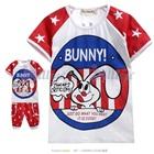 เสื้อและกางเกงกระต่ายน้อย-Bunny-(5size/pack)