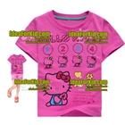 เสื้อยืดแขนสั้น-Hello-Kitty-(6size/pack)