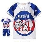 เสื้อและกางเกงกระต่ายน้อย-Bunny-สีฟ้า-(5size/pack)