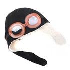 หมวกนักบิน-สีดำ--(5-ใบ/แพ็ค)
