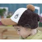 หมวกแก้ปปักตัวการ์ตูน-สีน้ำตาล-(5-ใบ/แพ็ค)