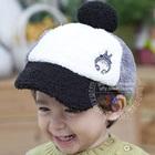 หมวกแก้ปปักตัวการ์ตูน-สีเทาอ่อน-(5-ใบ/แพ็ค)