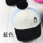 หมวกแก้ปปักตัวการ์ตูน-สีฟ้า-(5-ใบ/แพ็ค)