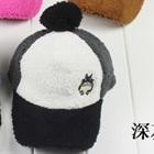 หมวกแก้ปปักตัวการ์ตูน-สีเทาเข้ม-(5-ใบ/แพ็ค)