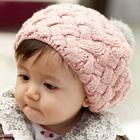หมวกถักกันหนาว-สีชมพู--(5-ใบ/แพ็ค)