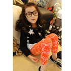 กางเกงเลกกิ้ง-Hello-Kitty-สีส้ม(5-ตัว-/pack)