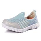 รองเท้าผ้าใบ-Nikk-สีฟ้าเทา-(6-คู่/แพ็ค)