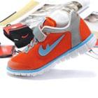 รองเท้าผ้าใบนักกีฬา-สีส้ม-(6-คู่/แพ็ค)
