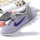 รองเท้าผ้าใบนักกีฬา-สีเทา-(6-คู่/แพ็ค)