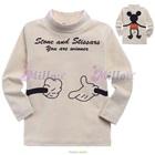 เสื้อแขนยาว-Mickey-Mouse-สีครีม-(5size/pack)