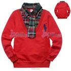 เสื้อแขนยาวหนุ่มอังกฤษ-สีแดง-(5size/pack)