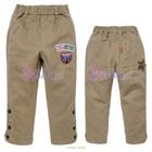 กางเกงขายาวแฟชั่น-สีน้ำตาล-(5size/pack)