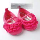รองเท้าเด็กเจ้าหญิงระบาย-สีชมพู-(6-คู่/pack)