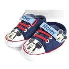 รองเท้าผ้าใบ-Mickey-Mouse-สีน้ำเงิน-(6-คู่/pack)