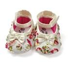 รองเท้าเด็กดอกกุหลาบ-สีขาว-(6-คู่/pack)