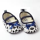 รองเท้าเด็กสกรีนลาย-สีขาวน้ำเงิน-(6-คู่/pack)