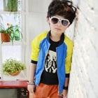 เสื้อแจ็กเก็ตแขนยาว-สีน้ำเงินเหลือง(5-ตัว/pack)