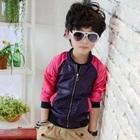 เสื้อแจ็กเก็ตแขนยาว-สีม่วงชมพู-(5-ตัว/pack)