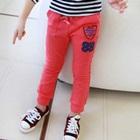 กางเกงขายาว-99-สีชมพูบานเย็น-(5-ตัว/pack)