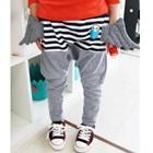 กางเกงขายาวติดปีก-สีเทา-(5-ตัว/pack)