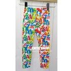 กางเกงเลกกิ้งสกรีนตัวอักษรภาษาอังกฤษ-(5-ตัว-/pack)
