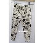 กางเกงเลกกิ้งลายดาว-สีดำขาว-(5-ตัว-/pack)