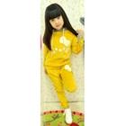 เซ็ตเสื้อกางเกงแมวเหมียว-สีเหลือง-(5-ตัว/pack)