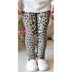 กางเกงเลกกิ้งลายเสือดาว-สีเทา-(5-ตัว-/pack)