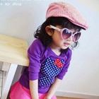 เสื้อยืดแขนสั้น-Hello-Kitty-สีม่วง-(5size/pack)