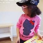 เสื้อยืดแขนสั้น-Hello-Kitty-สีชมพู-(5size/pack)