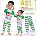 เซ็ตเสื้อกางเกง-Monkey-Music-สีเขียว-(5-ตัว/pack)