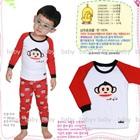 เซ็ตเสื้อกางเกง-Unifriend-สีแดง-(5-ตัว/pack)