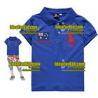 เสื้อแขนสั้น-Australia-สีฟ้า(5size/pack)