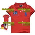 เสื้อแขนสั้น-Australia-สีแดง(5size/pack)