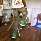 กางเกงขายาวอินเดี้ยน-1960-สีเขียว-(4-ตัว/pack)