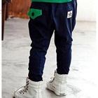 กางเกงขายาวดาวดวงเล็ก-สีน้ำเงิน-(4size/pack)