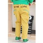 กางเกงขายาว-what-are-u-doing-สีเหลือง-(4size/pack)