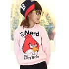 เสื้อยืดแขนยาว-Angry-Bird-สีชมพู-(4size/pack)