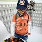 เสื้อแขนยาว-Music-สีส้ม-(4size/pack)
