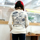 เสื้อแขนยาว-Twinkle-สีครีมขาว-(4size/pack)