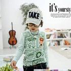 เสื้อแขนยาว-Twinkle-สีเขียวอ่อน-(4size/pack)