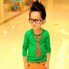 เสื้อยืดแขนยาวสกรีนลายไทด์-สีเขียว-(5-ตัว/pack)