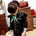 เสื้อแจ๊กเก็ตแขนยาวปีกนางฟ้า-สีดำ-(5-ตัว/pack)
