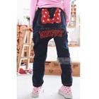 กางเกงยีนส์ขายาว-Mini-Pink-สีน้ำเงิน-(5-ตัว/pack)