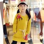 เดรสแขนยาว-Heart-สีเหลือง-(5-ตัว/pack)
