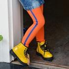 กางเกงเลกกิ้งหัวกระโหลก-สีส้ม-(5-ตัว-/pack)
